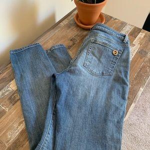 Michael Kors Jeans - Micheal Kors denim gold embellished jeans